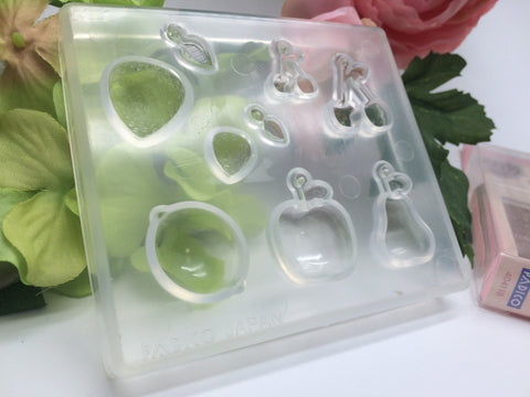 FREE SHIPPING - Padico Soft Clay Mold Fruit (PP)