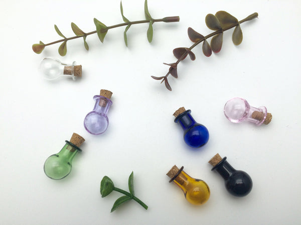 Mini Light Bulb Shape Glass Bottle ------ (FREE SHIPPING)