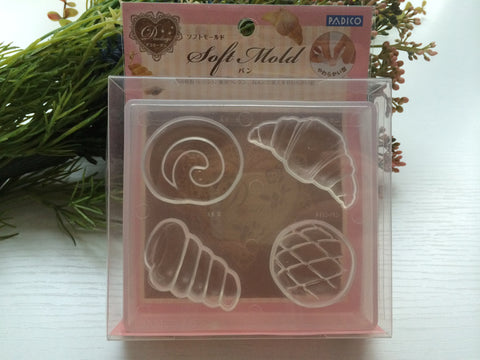 FREE SHIPPING - Padico Soft Bread Clay Mold