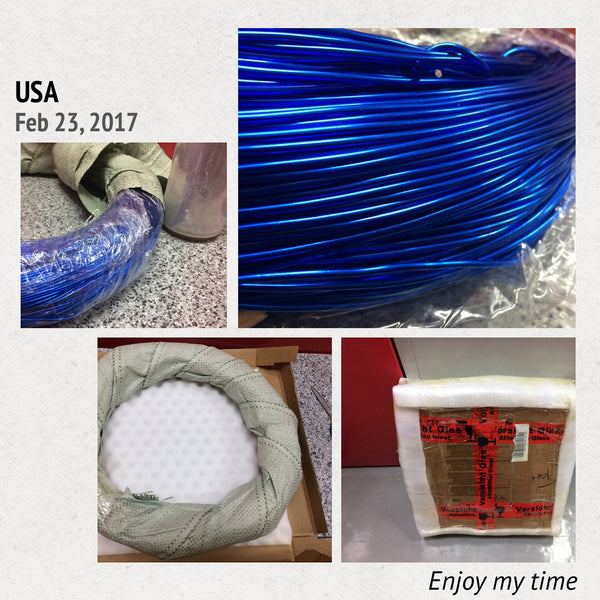 Artist's Choice Wholesale Aluminum Wire - 80 yards Free Shipping - 10 gauge (2.5mm) - 25 colors for choice