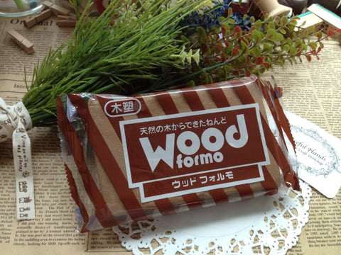 FREE SHIPPING - 500g Padico Wood Formo Modeling Clay