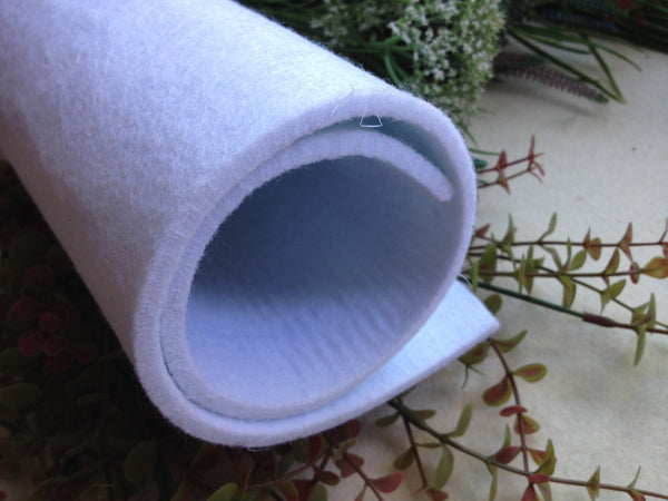 FREE SHIPPING - 5mm Thick Polyester Felt Fabric Sheet - 100 x 100 cm (1 meter) - 12 colors for choice