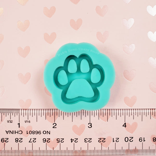 (PRE-ORDER) Small Silicone Mold: Grip-Sized Paw Shaker