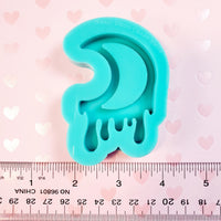 (PRE-ORDER) Drippy Moon Silicone Mold