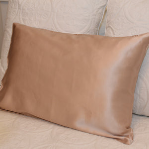 Champagne Mulberry Silk Pillow Case