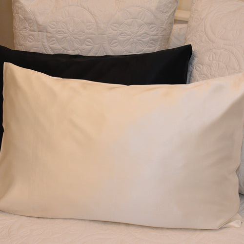 Mulberry Silk Pillowcase - Snow