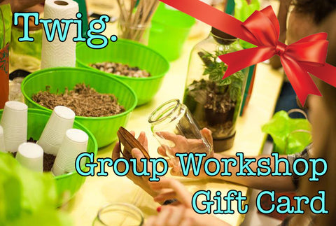 Group Workshop Gift Certificate