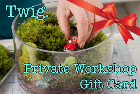 Private Workshop Gift Card