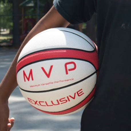 White & Red International MVP Ball