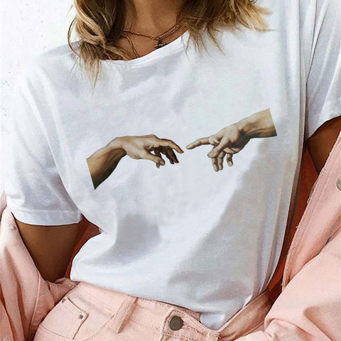 lovely White Women Shirts