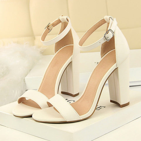 Female Chunky Summer Shoes