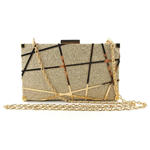 """So so"" Luxury Glitter Shoulder Handbag"