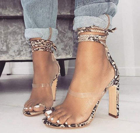 Aneikeh Summer Serpentine Shoes - So So Boujee