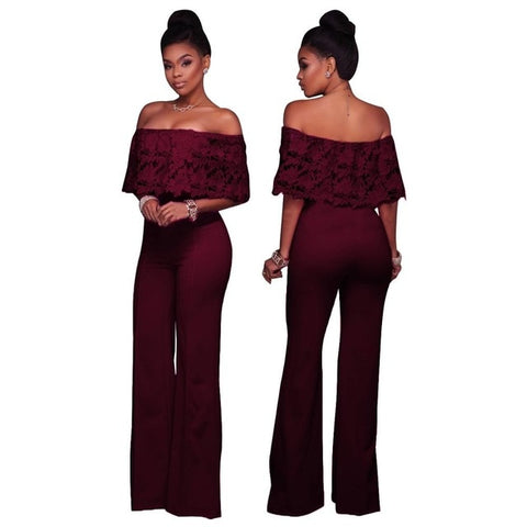 Sexy tube jumpsuits for women