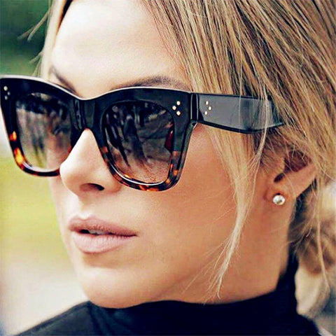 Sexy Luxury Rectangle Sunglasses