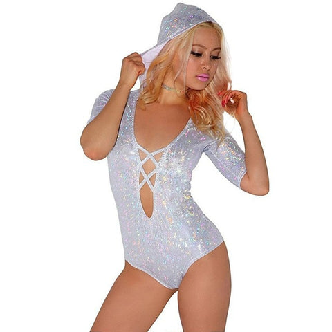 "Sexy 'Shimmer Me"" Bodysuit"