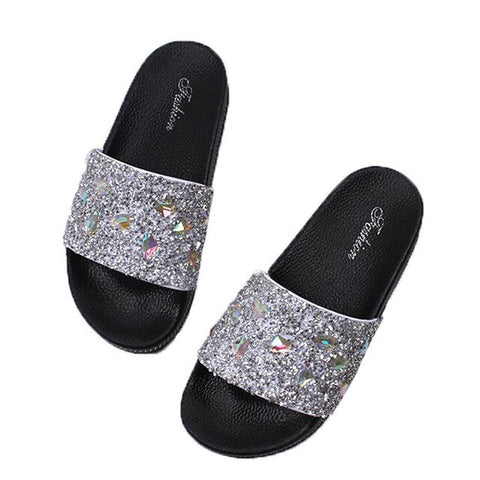 Korean flat soles slippers - So So Boujee