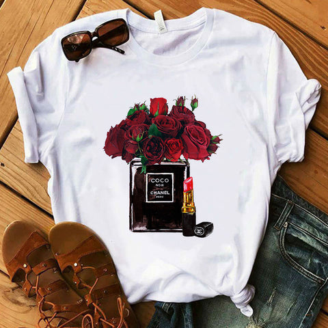 Luxury Red Lipstick Shirt  For Women - So So Boujee
