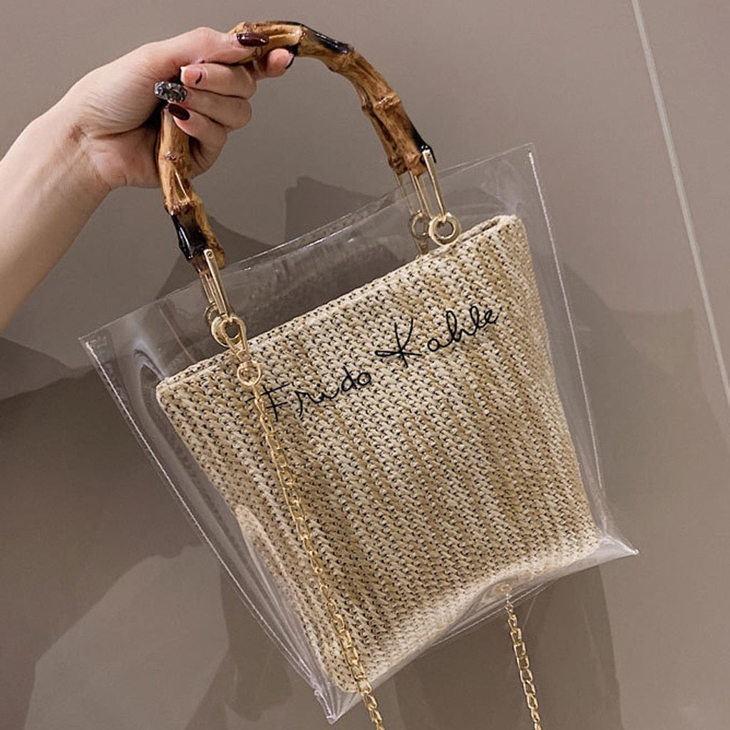Trendy Clear Jelly Shoulder Bag - So So Boujee
