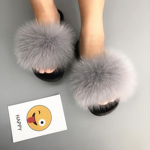 """lovely"" Women Furry Slippers"