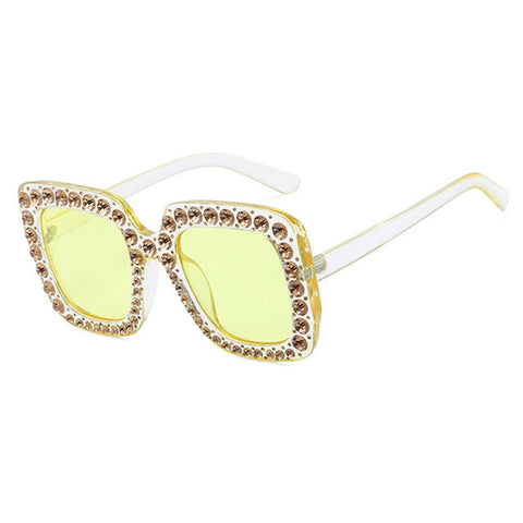 Rhineston Diamond  Sunglasses
