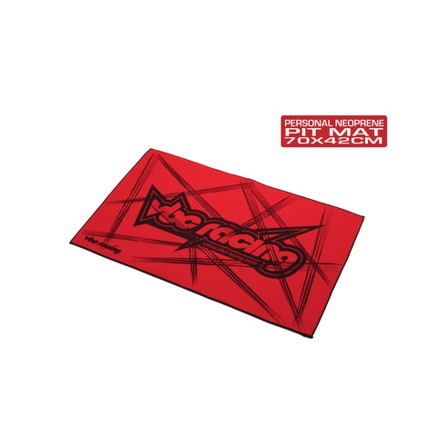 VBC Racing Personal Neoprene Pit Mat-Red A-02-VBC-A004R