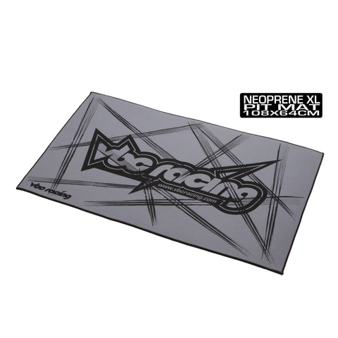 VBC Racing Neoprene XL Pit Mat-Grey A-02-VBC-A005G