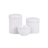 KIT DE HIGIENE 3 PC BRANCO LISO