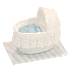 24 VELAS BASSINET AZUL 33,0X40,5X24,5 MM