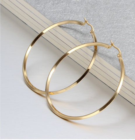 Picture of GOLD FILLED HOOP EARRINGS