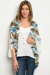 BEAUTIFUL FLORAL LIGHT JACKET