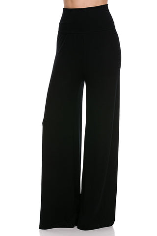Picture of SOLID BLACK MODAL HIGH WAIST