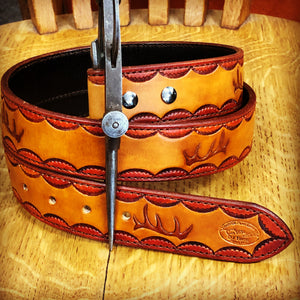 "Custom ""Elk Antler"" Belt"