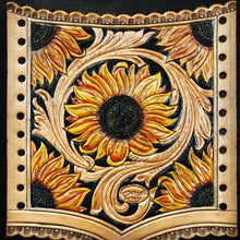 Load image into Gallery viewer, Sunflower Bridal Bouquet Wrap