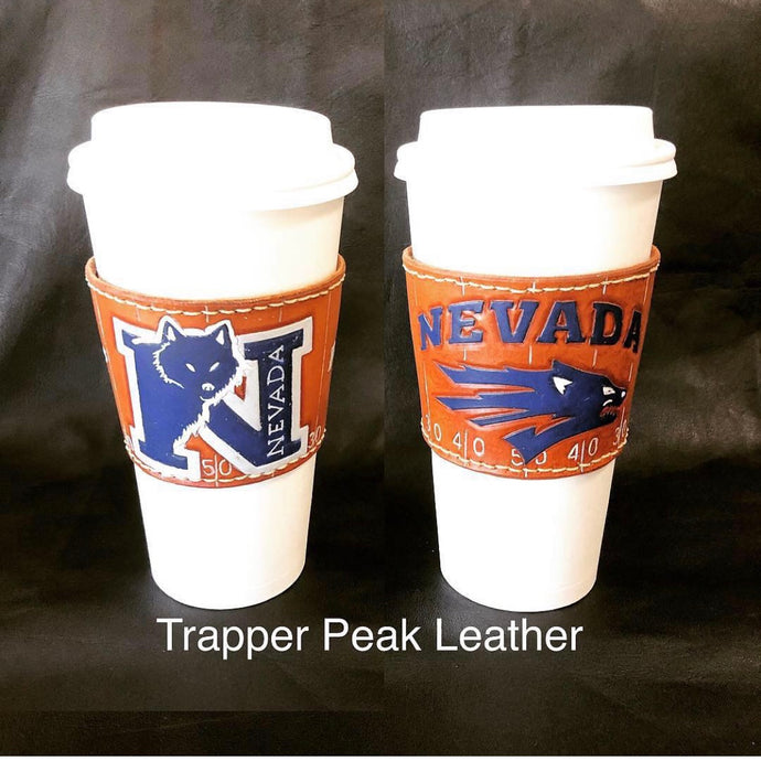 Custom Leather Sleeve Cup and Drink Holders