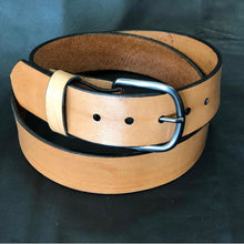 Load image into Gallery viewer, Natural Leather Belt