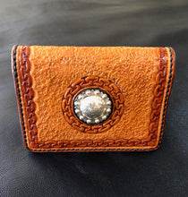 Load image into Gallery viewer, ID/Credit Card Wallet (Montana Silversmith Concho)