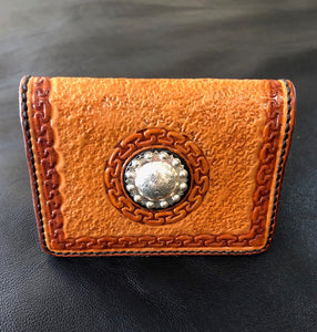 ID/Credit Card Wallet (Montana Silversmith Concho)
