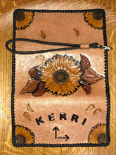 Load image into Gallery viewer, Sunflower Clutch Purse/Wallet
