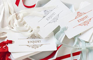 PAPER, RIBBON & TAGS