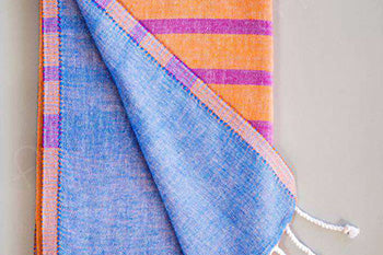 Striped, Double Sided Turkish Towel.