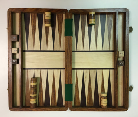 Traveling Backgammon Set