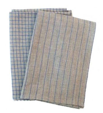100% Linen Set of 2 Towels