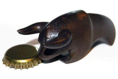 Bronze Bull Bottle Opener