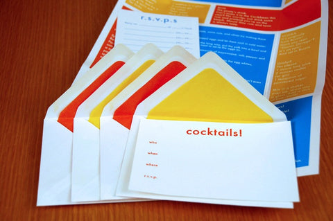 Classic Cocktail Invitations