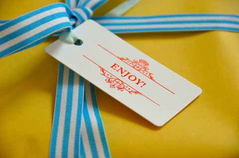 Enjoy Gift Tags - Set of 10