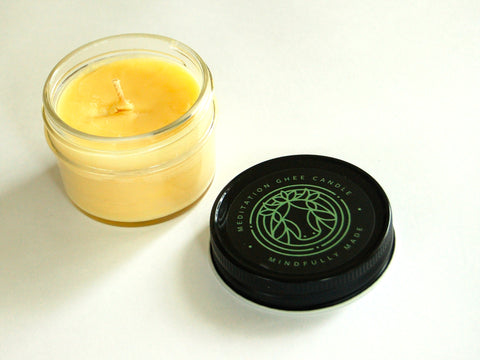 Farmtrue Meditation Ghee Candle