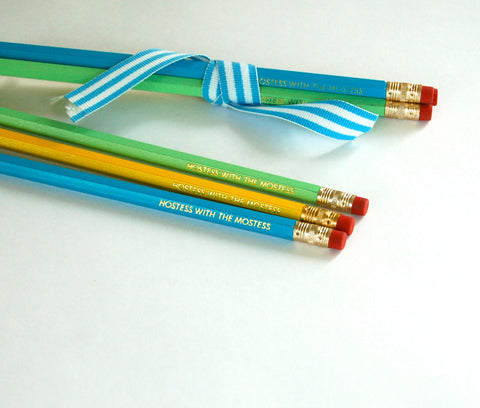 Hostess with the Mostess Pencils