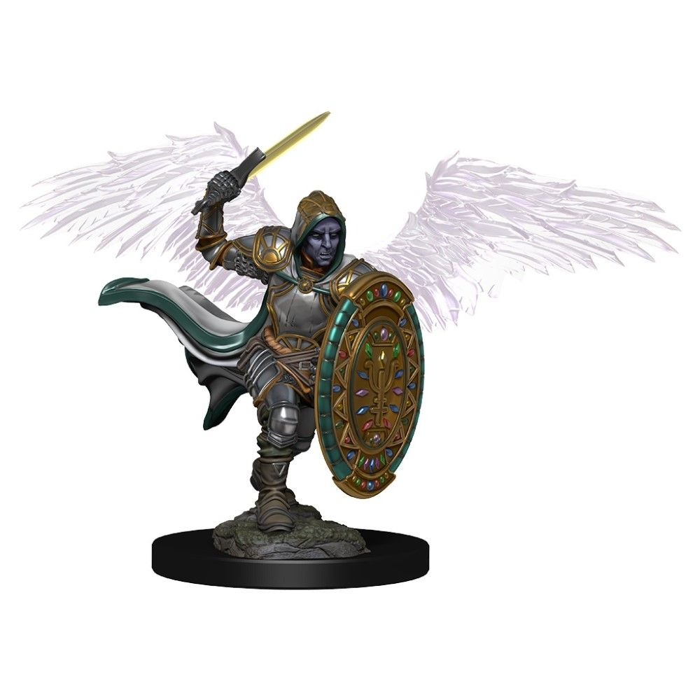 D&D Premium Figures Aasimar Paladin (He/Him/They/Them)