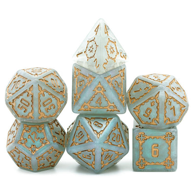 Grey Huge Castle Dice